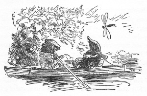 Rat and Mole Boating