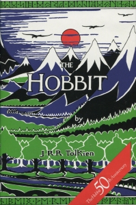 1987 Unwin Hyman Hobbit dust-jacket