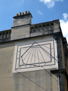 sundial at Christ Church Oxford
